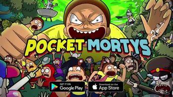 Pocket Mortys TV Spot, 'New Avatars: Spacesuit Rick, Spacesuit Morty, Snake Morty' - Thumbnail 10