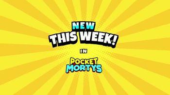 Pocket Mortys TV Spot, 'New Avatars: Spacesuit Rick, Spacesuit Morty, Snake Morty' - Thumbnail 2