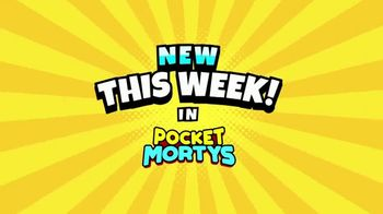 Pocket Mortys TV Spot, 'New Avatars: Spacesuit Rick, Spacesuit Morty, Snake Morty'