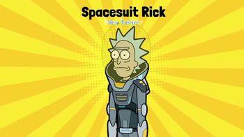 Pocket Mortys TV Spot, 'New Avatars: Spacesuit Rick, Spacesuit Morty, Snake Morty' - Thumbnail 6