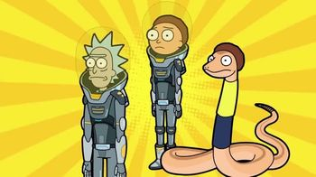 Pocket Mortys TV Spot, 'New Avatars: Spacesuit Rick, Spacesuit Morty, Snake Morty' - Thumbnail 7