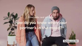 Hims TV Spot, 'Real Couples: In the Mood' - Thumbnail 2