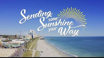 Visit Myrtle Beach TV Spot, 'Sending Sunshine Your Way'