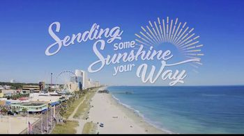 Visit Myrtle Beach TV Spot, 'Sending Sunshine Your Way'