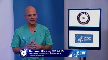Centers for Disease Control and Prevention TV Spot, 'Univision: fumar' con Dr. Juan Rivera [Spanish] - Thumbnail 1
