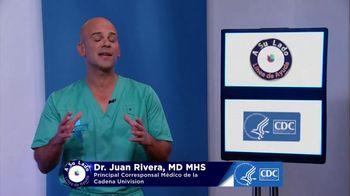 Centers for Disease Control and Prevention TV Spot, 'Univision: fumar' con Dr. Juan Rivera [Spanish]