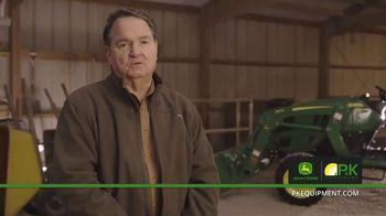 P&K Equipment TV Spot, 'George: John Deere 3025E Platinum Package' - Thumbnail 1