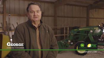 P&K Equipment TV Spot, 'George: John Deere 3025E Platinum Package' - Thumbnail 2