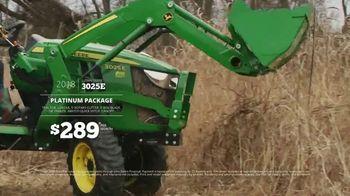 P&K Equipment TV Spot, 'George: John Deere 3025E Platinum Package' - Thumbnail 5