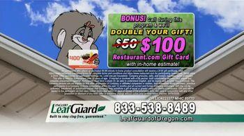 LeafGuard of Oregon Spring Blowout Sale TV Spot, 'Spring Showers' - Thumbnail 8