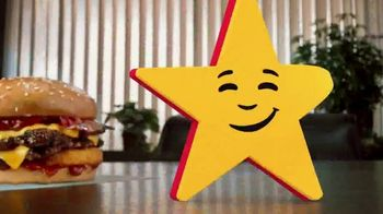 Carl's Jr. Spicy Western Bacon Cheeseburger TV Spot, 'Mediation' - Thumbnail 4