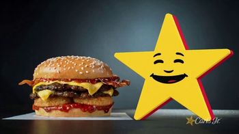 Carl's Jr Spicy Western Bacon Cheeseburger TV Spot, 'Conflicted' - Thumbnail 1
