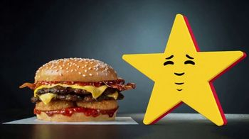 Carl's Jr Spicy Western Bacon Cheeseburger TV Spot, 'Conflicted' - Thumbnail 5