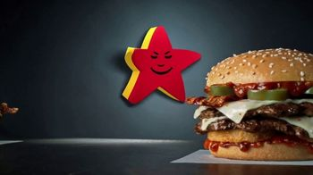 Carl's Jr Spicy Western Bacon Cheeseburger TV Spot, 'Conflicted' - Thumbnail 7