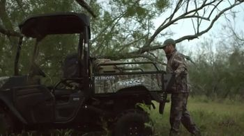 Kubota Sidekick TV Spot, 'Hunting Season'