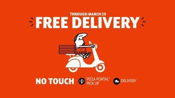 Little Caesars Pizza TV Spot, 'Doorbell: No Touch' - Thumbnail 8