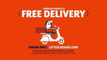 Little Caesars Pizza TV Spot, 'Doorbell: No Touch' - Thumbnail 7