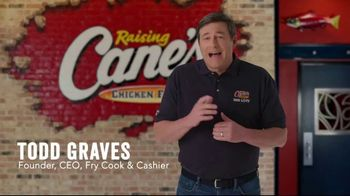 Raising Cane's TV Spot, 'Here to Serve You' - Thumbnail 1