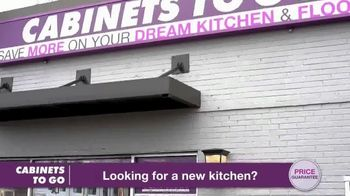 Cabinets To Go Annual Spring Kitchen Sale TV Spot, 'Recent Discovery' Featuring Bob Vila - Thumbnail 2