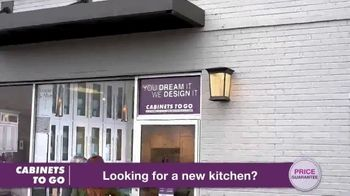 Cabinets To Go Annual Spring Kitchen Sale TV Spot, 'Recent Discovery' Featuring Bob Vila - Thumbnail 3