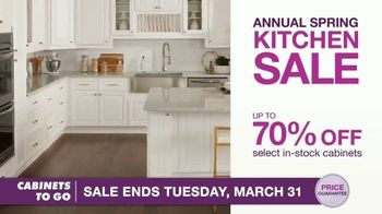 Cabinets To Go Annual Spring Kitchen Sale TV Spot, 'Recent Discovery' Featuring Bob Vila - Thumbnail 5