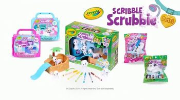 Scribble Scrubbie Pets TV Spot, 'Go Wild' - 2369 commercial airings