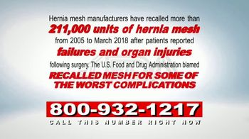 Baddrugs411.com TV Spot, 'Recalled Hernia Mesh' - Thumbnail 4