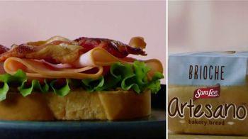 Sara Lee Artesano TV Spot, 'The Art of the Sandwich'
