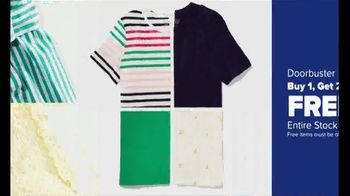 Belk Days TV Spot, 'Kim Rogers Apparel, Men's Sportswear, Girls Dresses' - Thumbnail 4