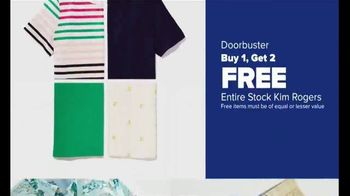 Belk Days TV Spot, 'Kim Rogers Apparel, Men's Sportswear, Girls Dresses' - Thumbnail 6