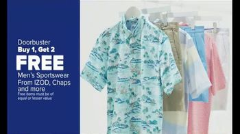 Belk Days TV Spot, 'Kim Rogers Apparel, Men's Sportswear, Girls Dresses'