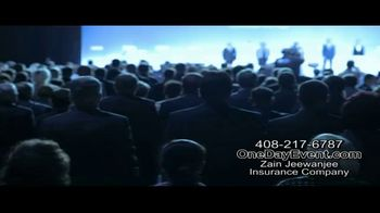 Zain Jeewanjee Insurance Company TV Spot, 'Event Cancellation Insurance' - Thumbnail 1