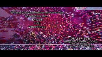 Zain Jeewanjee Insurance Company TV Spot, 'Event Cancellation Insurance' - Thumbnail 3