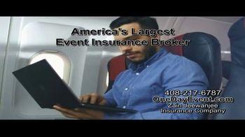 Zain Jeewanjee Insurance Company TV Spot, 'Event Cancellation Insurance' - Thumbnail 4
