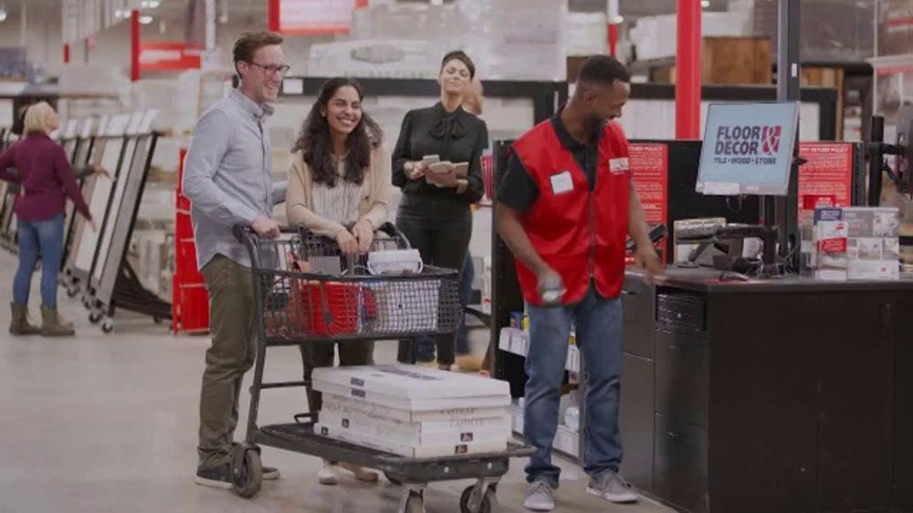 Floor & Decor TV Commercial, 'Grand Opening: Perfect'