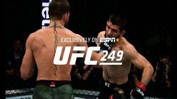 ESPN+ TV Spot, 'UFC 249: Khabib vs. Ferguson' - 169 commercial airings