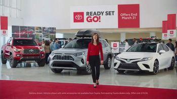 Toyota Ready Set Go! TV Spot, 'Imagine Yourself: Snow' [T2] - Thumbnail 1