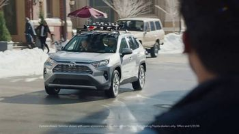 Toyota Ready Set Go! TV Spot, 'Imagine Yourself: Snow' [T2] - Thumbnail 2