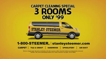 Stanley Steemer Carpet Cleaning Special TV Spot, 'Three Rooms Only $99' - Thumbnail 6