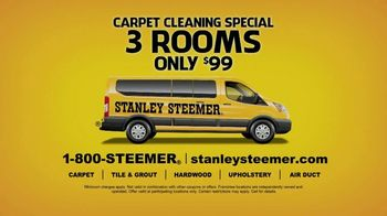 Stanley Steemer Carpet Cleaning Special TV Spot, 'Three Rooms Only $99' - Thumbnail 7