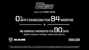 Ram Truck Month TV Spot, 'Another Big Reason' [T2] - Thumbnail 5