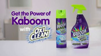Kaboom Foam-Tastic with OxiClean TV Spot, 'Sprays on Blue' - Thumbnail 10