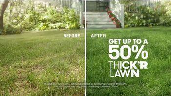Scotts Turf Builder Thick'r Lawn TV Spot, 'Worn Down Lawn'