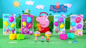Peppa Pig Peppa's Surprise Balloons and Surprise Mini Campervans TV Spot, 'Peel & Reveal' - Thumbnail 8