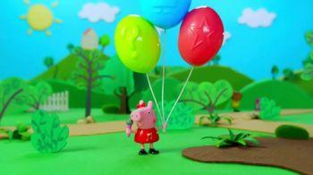 Peppa Pig Peppa's Surprise Balloons and Surprise Mini Campervans TV Spot, 'Peel & Reveal' - Thumbnail 2