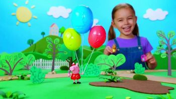 Peppa Pig Peppa's Surprise Balloons and Surprise Mini Campervans TV Spot, 'Peel & Reveal' - 909 commercial airings