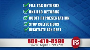 StopIRSDebt.com TV Spot, 'Emergency Tax Relief'