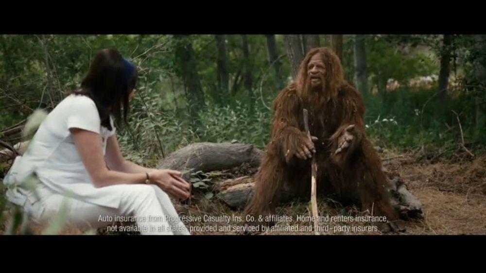 Progressive TV Commercial, 'Sadsquatch' - iSpot.tv