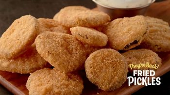 Zaxby's TV Spot, 'Drive-Thrus Open: Fried Pickles' - Thumbnail 3