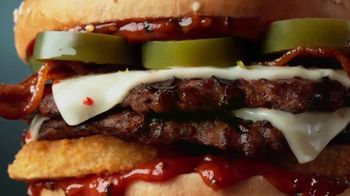 Carl's Jr. Spicy Western Bacon Cheeseburger TV Spot, 'Inner Struggle' - Thumbnail 9